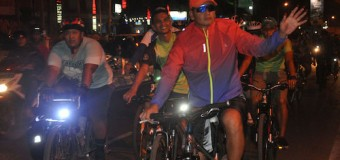 Manfaatkan Hoby Bersepeda Dengan Patroli Wilayah
