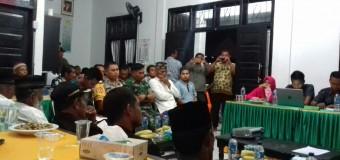 Babinsa Jantho Baru, Bersama Pejabat Desa Berkomitmen Dalam Kemajuan Desa Melalui Musrenbang