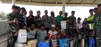 Tim Gator Korem 044/Gapo Sosialisasi Bios 44 di Wilayah OKU