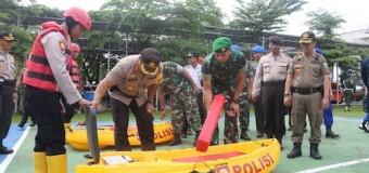 Antisipasi Bencana Alam, TNI-Polri Dan Pemkot Palembang Gelar Apel Gabungan Kesiap Siagaan
