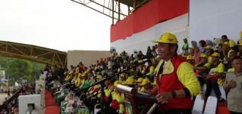 HD Jadikan Porprov Prabumulih Ajang Memperbaiki Prestasi PON Sumsel di Papua