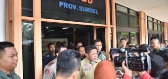 Gubernur Perpanjang Status Satgas Karhutla Sumsel Sampai Desember