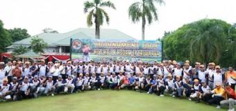 Gubernur HD Jadikan Lapangan Golf Kenten Cagar Budaya