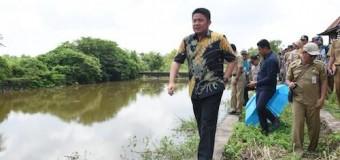 HD Jadikan Muara Belida Pusat Pembenihan dan Pemasaran Ikan dan Udang Terbesar di Indonesia
