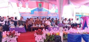Bupati Joncik Lantik Anggota BPD Kecamatan Muara Pinang