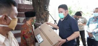 Gubernur Semangati Korban Kebakaran Desa Besar Ibul II Pemulutan