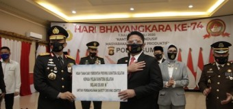 HUT Bhayangkara, Herman Deru Hibahkan Lahan 2 Hektare ke Polda Sumsel