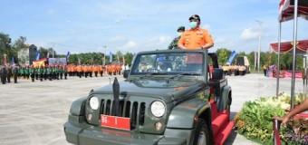 HD Gelontorkan Bantuan Rp 45 Miliar ke 10 Kabupaten Untuk Cegah Karhutla