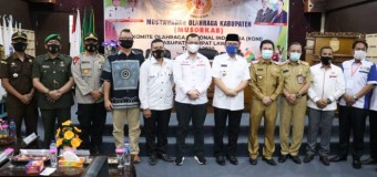 Koni Empat Lawang Adakan Musyawarah Olahraga Kabupaten