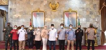 Raker dengan Ketua DPD RI, Herman Deru Paparkan Tiga Program Prioritas Sumsel