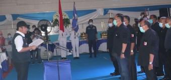 Gubernur Kukuhkan Pengurus KONI dan Perbakin Lahat
