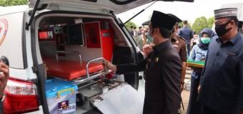 Pemkab Empat Lawang Terima Bantuan Tiga Unit Mobil Ambulan dari Kemenkes