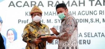 Ketua Mahkamah Agung RI, Puji Herman Deru Jalan di Sumsel Mulus