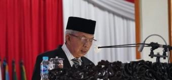 Wagub Tanggapi Pandangan Umum Fraksi Terkait Pembahasan Raperda APBD Sumsel TA 2021