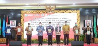 Herman Deru Gandeng Pimpinan KPK Selamatkan Aset Negara di Sumsel