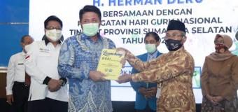 Herman Deru Dorong Guru di Sumsel Konsisten Lahirkan Inovasi Baru