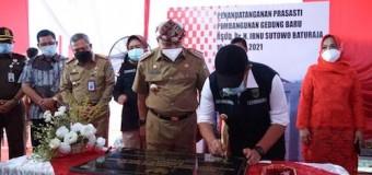 Gubernur Herman Deru Resmikan Renovasi RSUD Ibnu Soetowo Baturaja