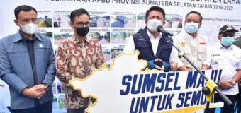 34 Tahun Tak Tersentuh Pembangunan, Herman Deru Bangun Akses Jalan di Kabupaten Lahat