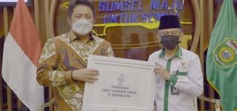 Melalui Gerakan Cinta Zakat, Herman Deru Dorong Baznas Jaga Kepercayaan Umat