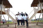 Resmikan Kampoeng Wisata Ya Samman Cindo, Herman Deru Dorong Jadi Wisata Edukasi Pertanian